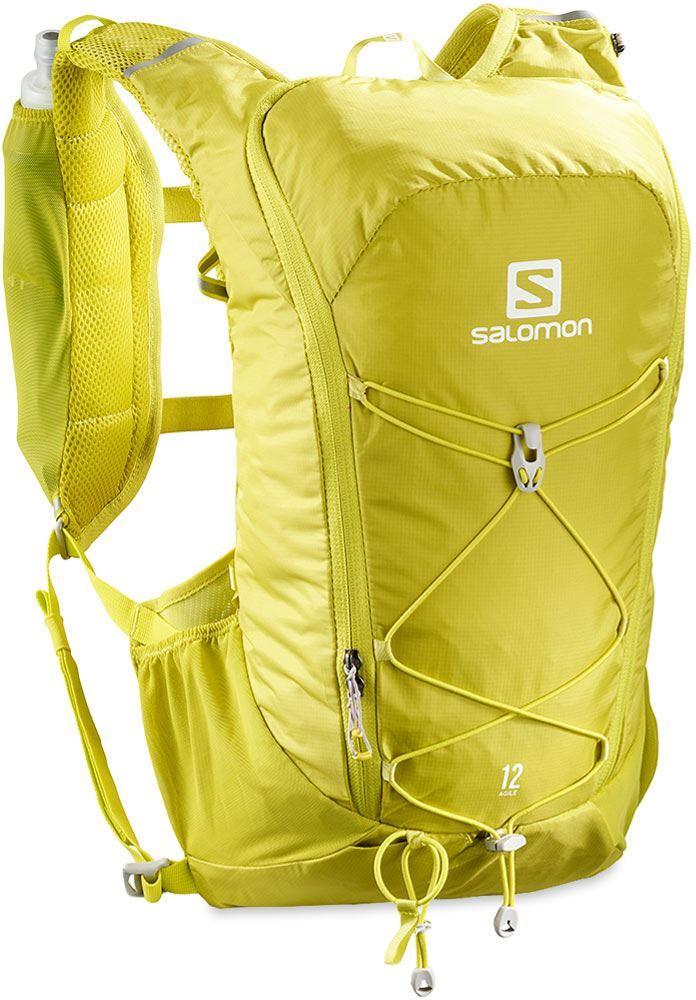 Salomon Agile 12 Set Hydration Pack Citronelle Sulphur Spring