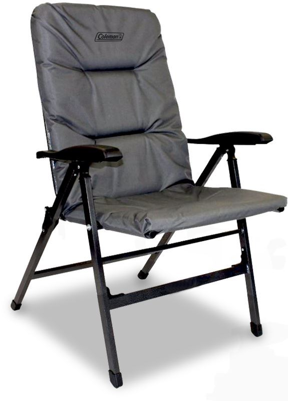 Coleman Pioneer 8 Position Chair Charcoal