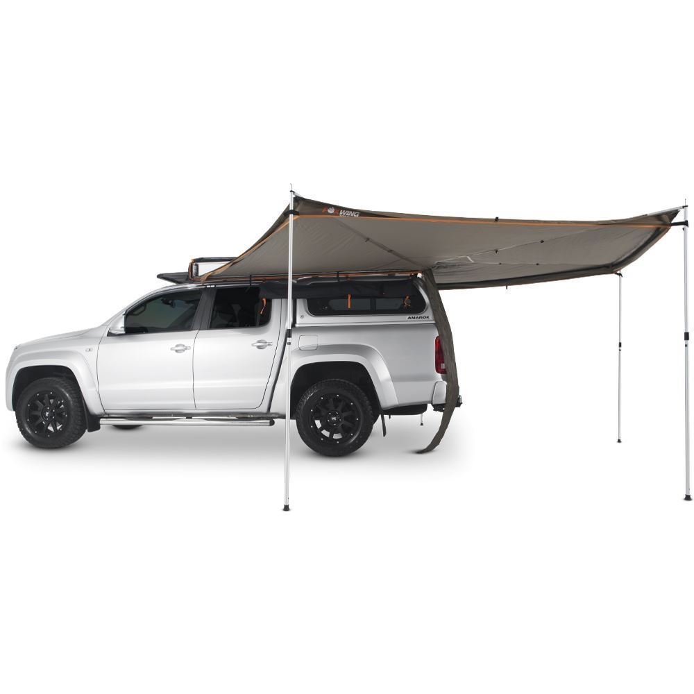 Oztent Foxwing 270° Awning One piece, easy swing-out awning