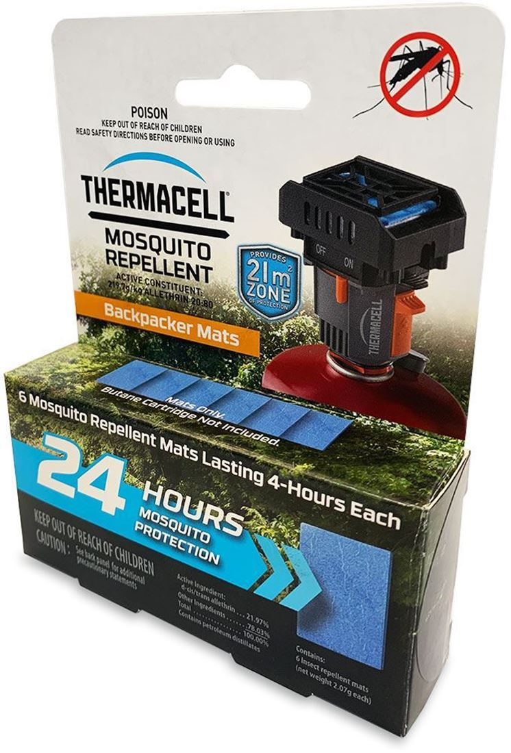 Thermacell Backpacker Mat-Only Refills 24 Hour - Packaging