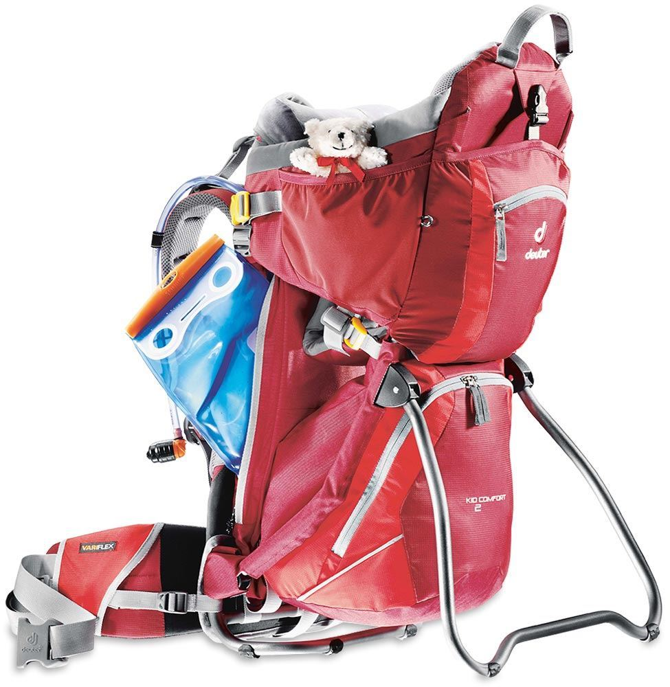 Deuter Kid Comfort 2 Child Carrier Cranberry Fire