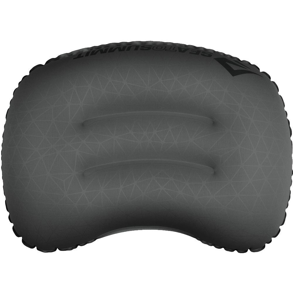 Sea to Summit Aeros Ultralight Pillow Curved internal baffles create contours that cradle your head