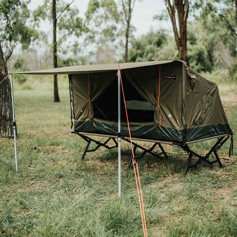 Oztent RS-1S King Single Stretcher can fit two perfectly in an RV-5 or RX-5