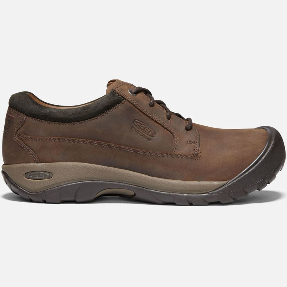 Keen Austin Casual WP Men's Shoe Waterproof, oiled nubuck and premium full-grain leather upper