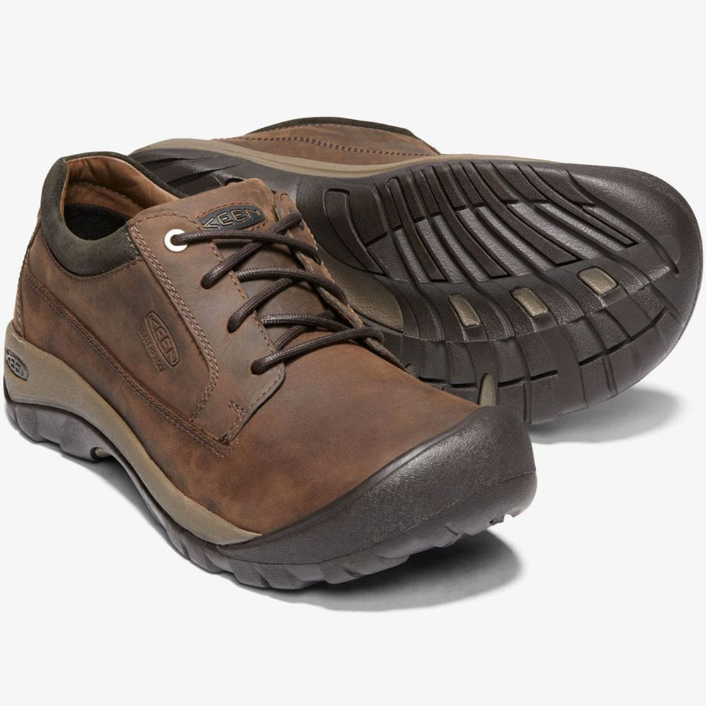 Keen Austin Casual WP Men's Shoe This internal support mechanism is anatomically engineered to provide excellent arch support and cradle the natural contours of the foot.