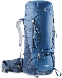 Deuter Aircontact 45+10 Rucksack Midnight Navy