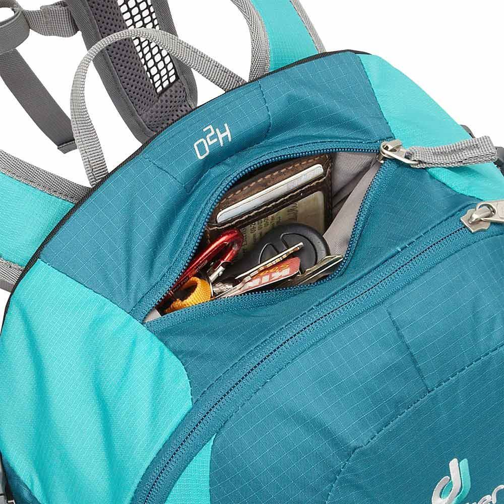 Deuter Airlite 20 SL Daypack Petrol/ Mint - Inside top zippered pocket