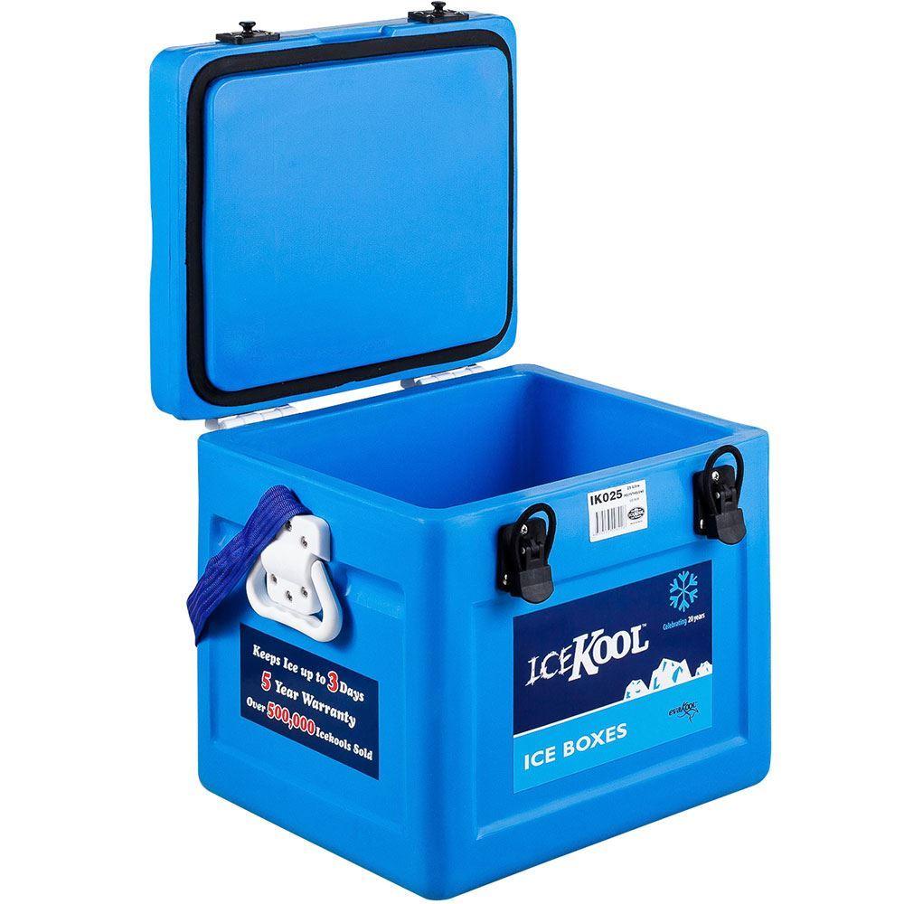 IceKool Icebox 25 Litre - Lid open