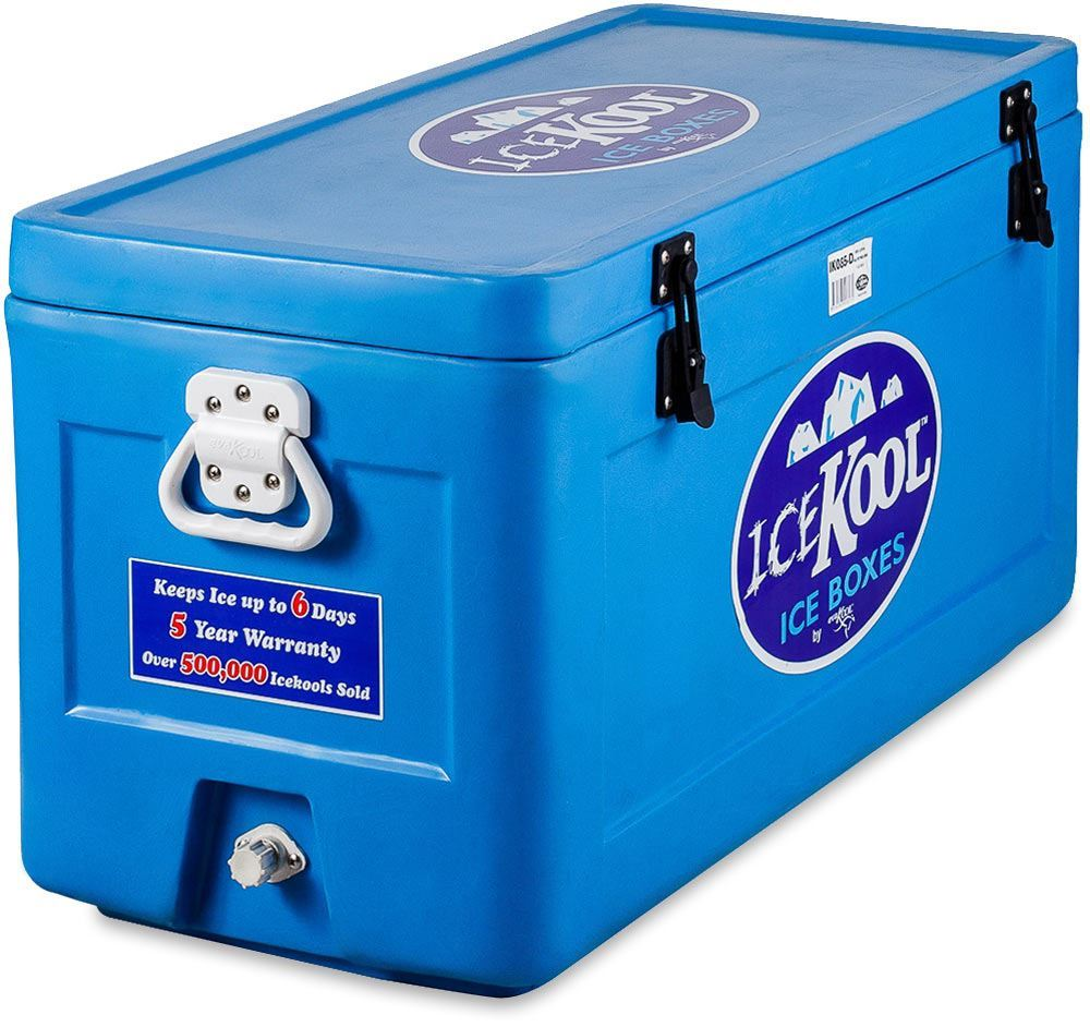 IceKool Icebox 85 Litre with Built-in Divider
