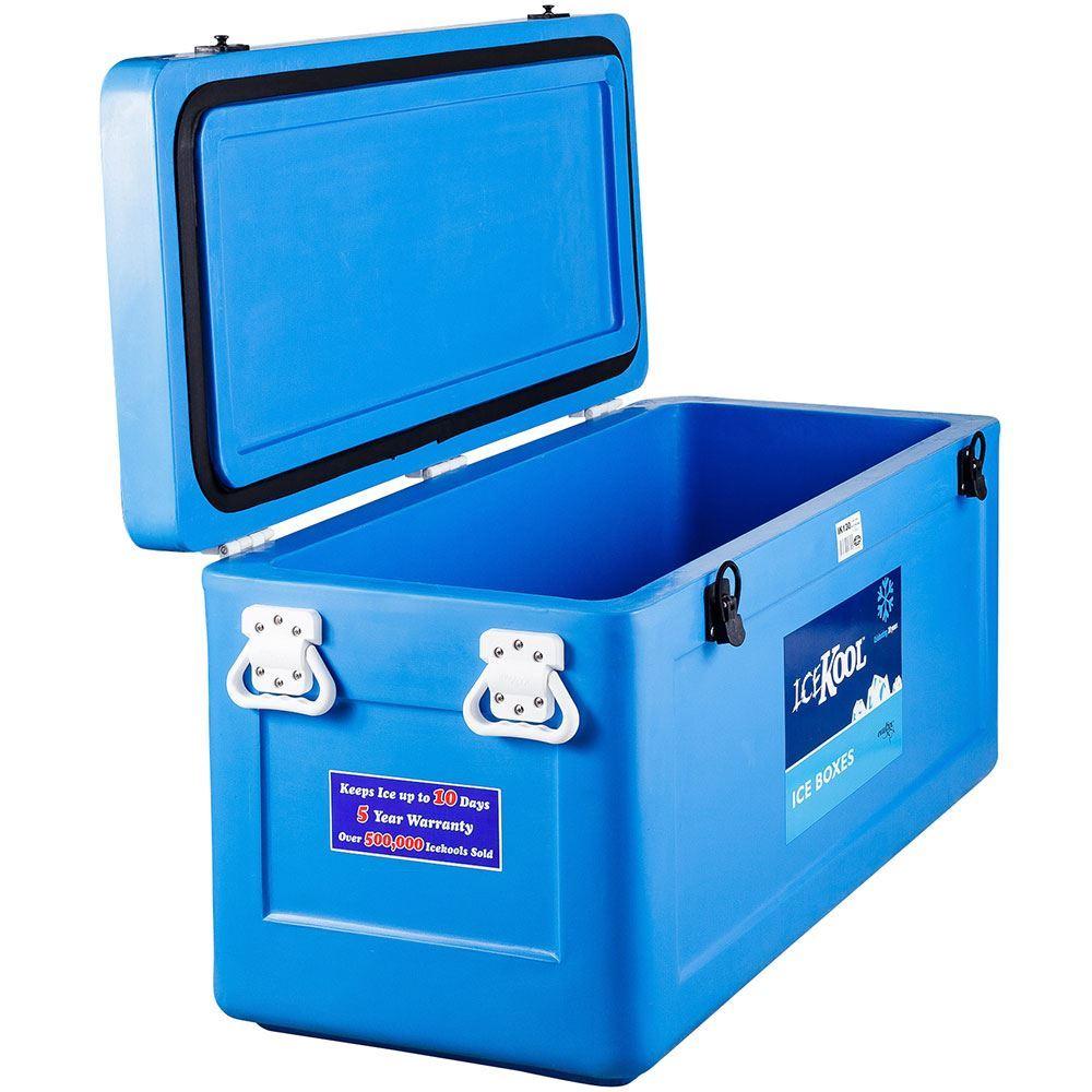 Evakool IceKool Icebox 130 Litre - Lid open