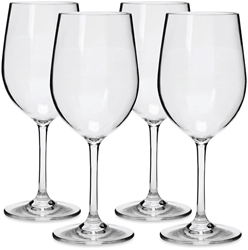Everclear Tritan Wine Glass 355ml 4Pk