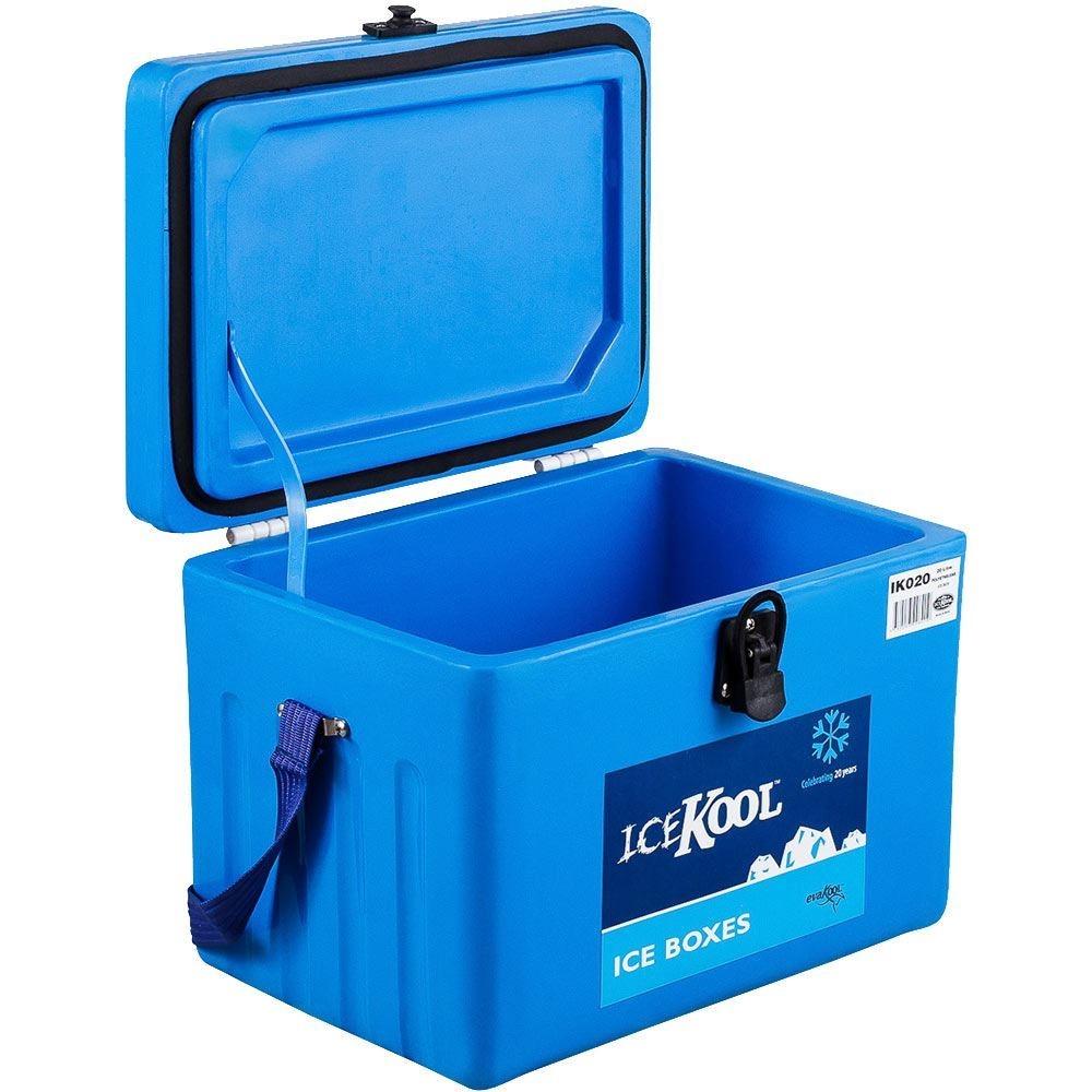 Evakool IceKool Icebox 20 Litre - Lid open