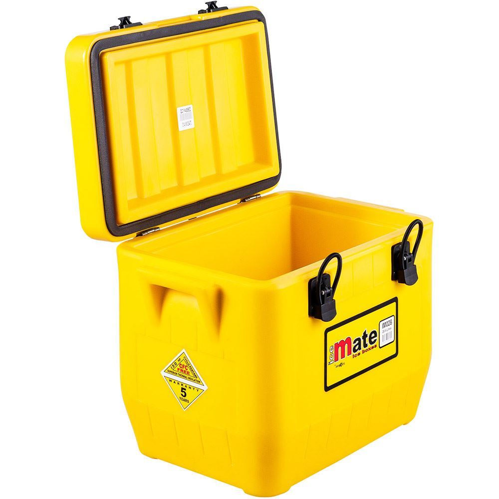 Icemate Icebox 26 Litre - Lid open