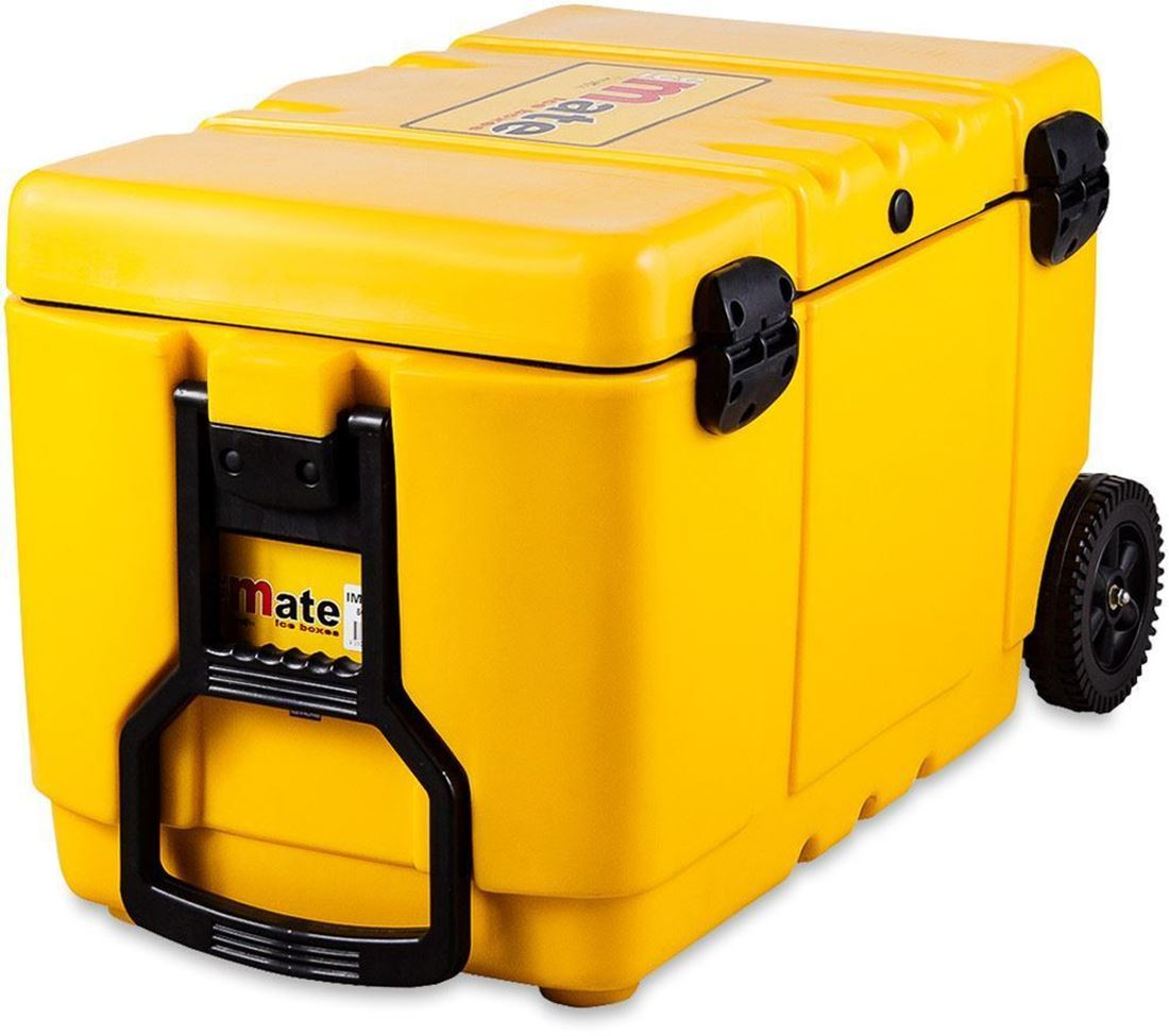 Icemate Wheelie Icebox 50 Litre - Handle view