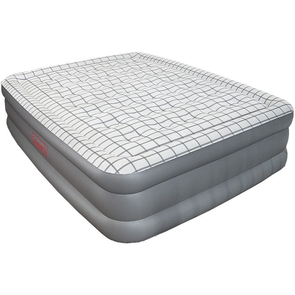 Coleman Queen Double-High Quickbed & Pump