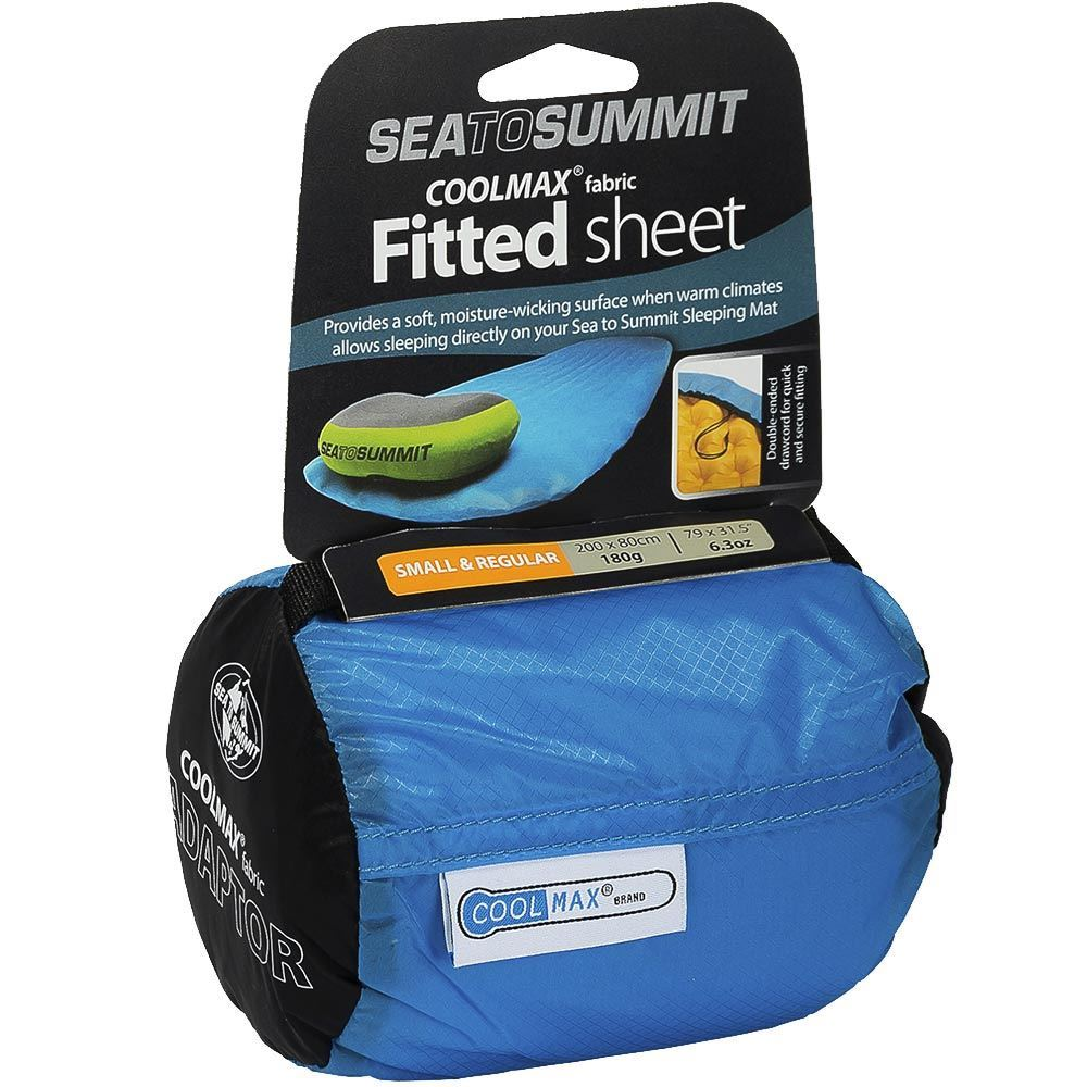 Sea to Summit Coolmax Fitted Sheet Small and Regular - Packaging
