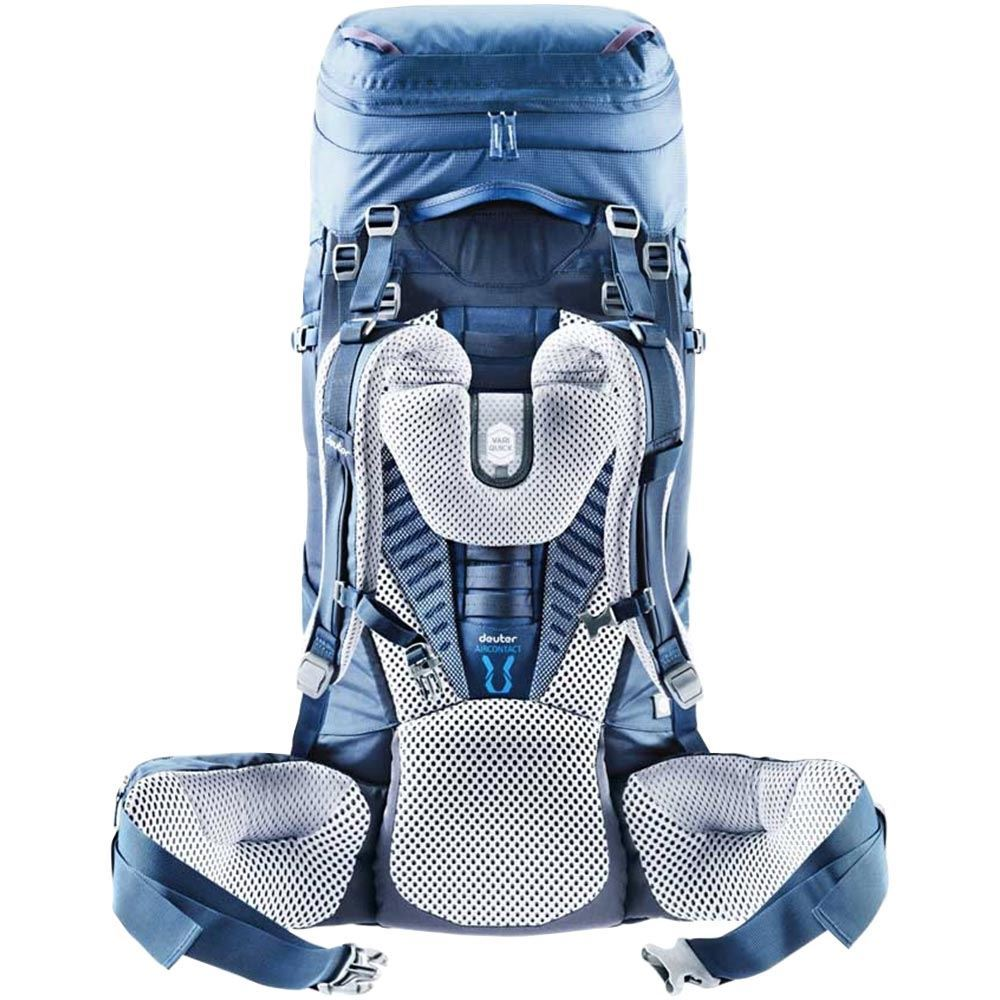 Deuter Aircontact 50+10 SL Rucksack Steel Midnight Aircontact system