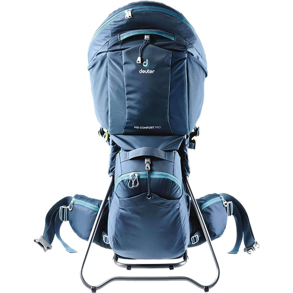 Deuter Kid Comfort Pro + Integrated Sunroof & Small Backpack Midnight
