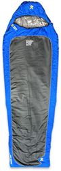 Explore Planet Earth Cocoon Sleeping Bag (0°C) Blue