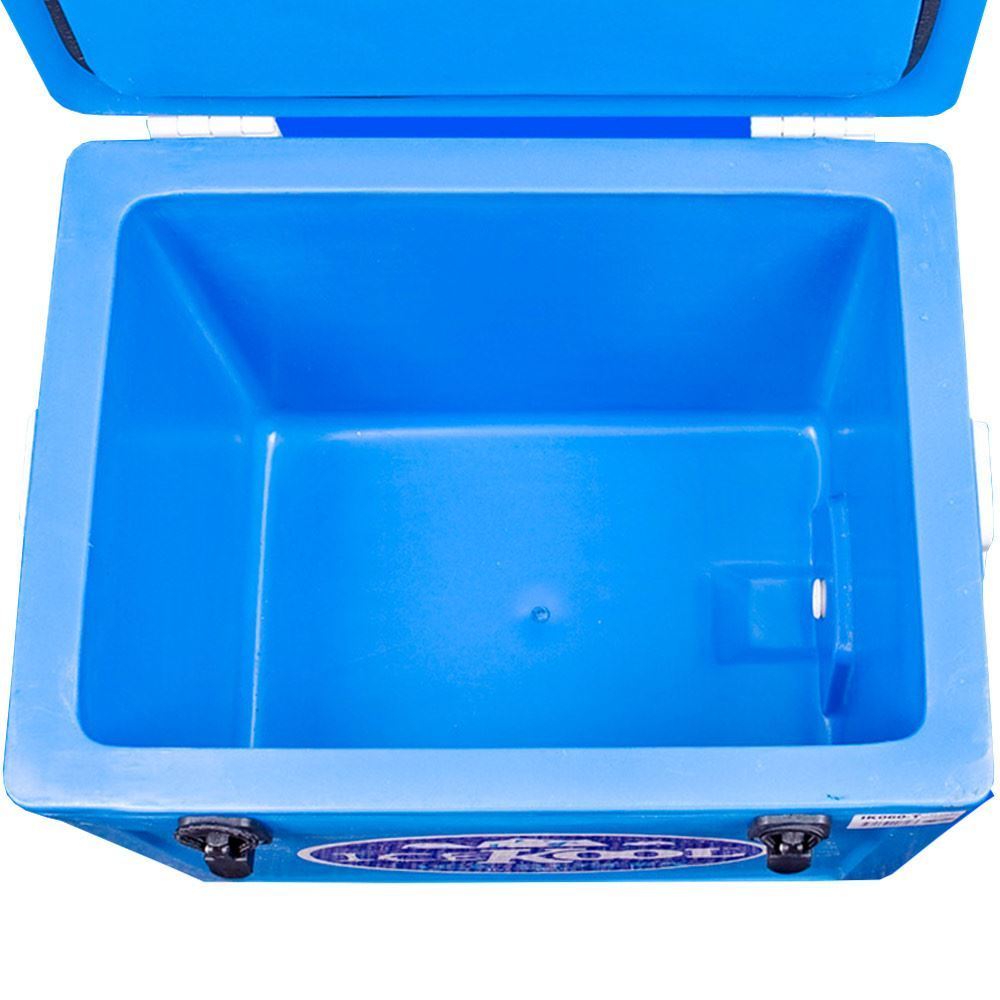 IceKool Icebox Thick Wall 60 Litre - Lid open
