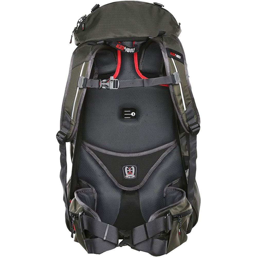 Black Wolf Nomad 60 Travel Trek Hybrid Pack
