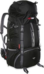 Black Wolf Nomad 60 Travel Trek Hybrid Pack Black