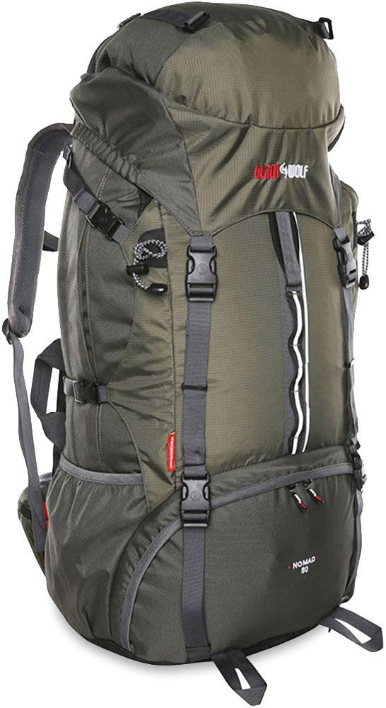 Black Wolf Nomad 80 Travel Trek Hybrid Pack Titanium