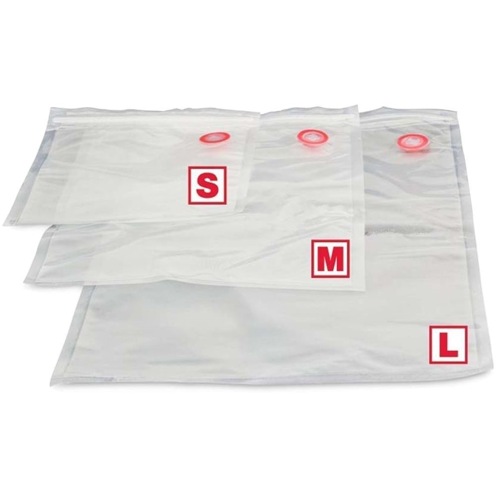 Travel Chef Re-sealable-Vacuum Sealer Bags Seal - All sizes