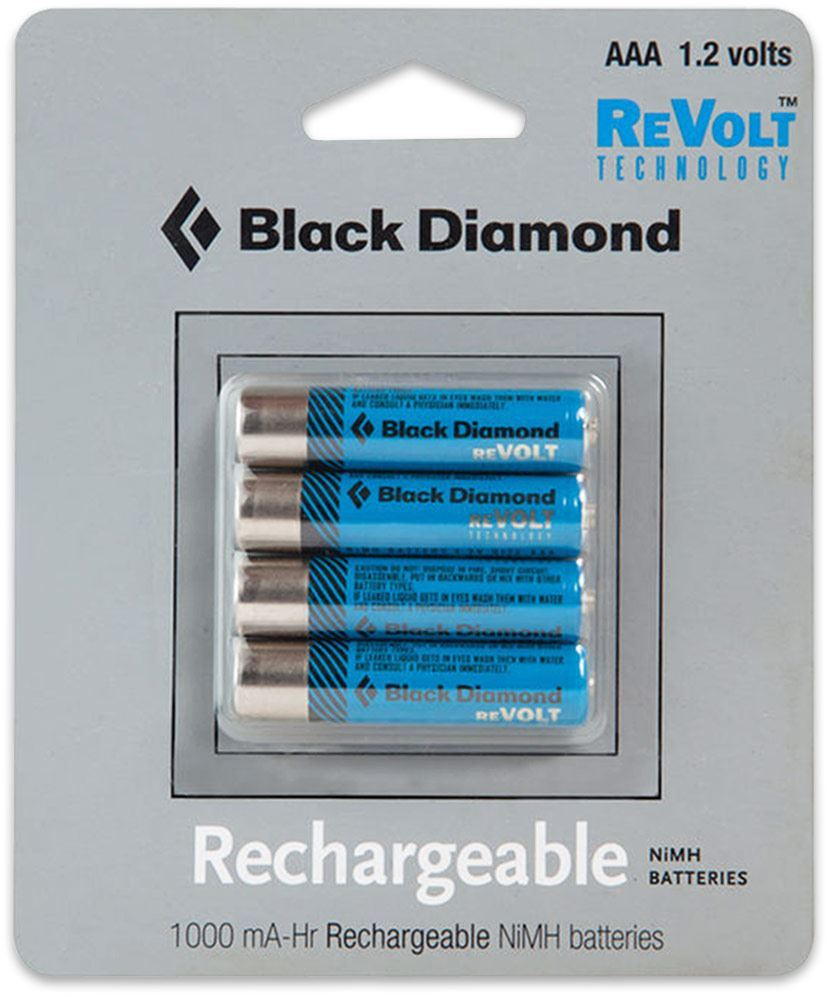 Black Diamond ReVolt Headlamp Rechargable Battery 4 Pk