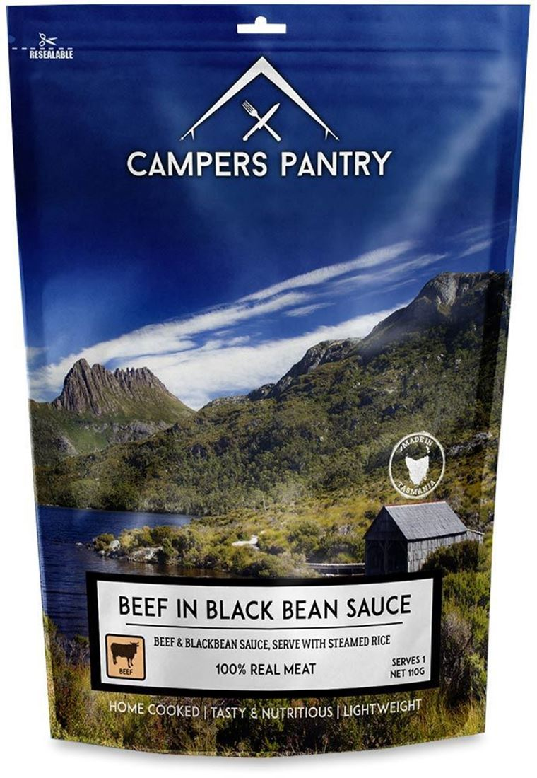 Campers Pantry Beef & Blackbean Sauce Freeze Dried Meal