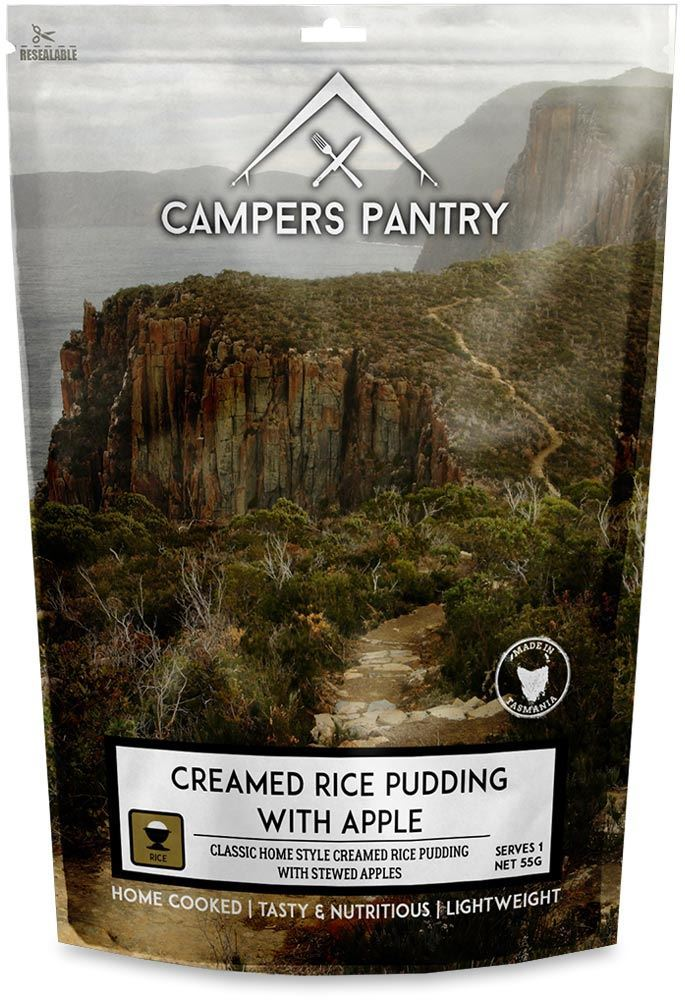 Campers Pantry Creamed Rice Pudding & Apple Freeze Dried Meal