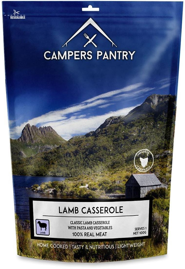 Campers Pantry Lamb Casserole Freeze Dried Meal