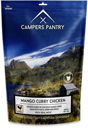 Campers Pantry Mango Curry Chicken Freeze Dried Meal