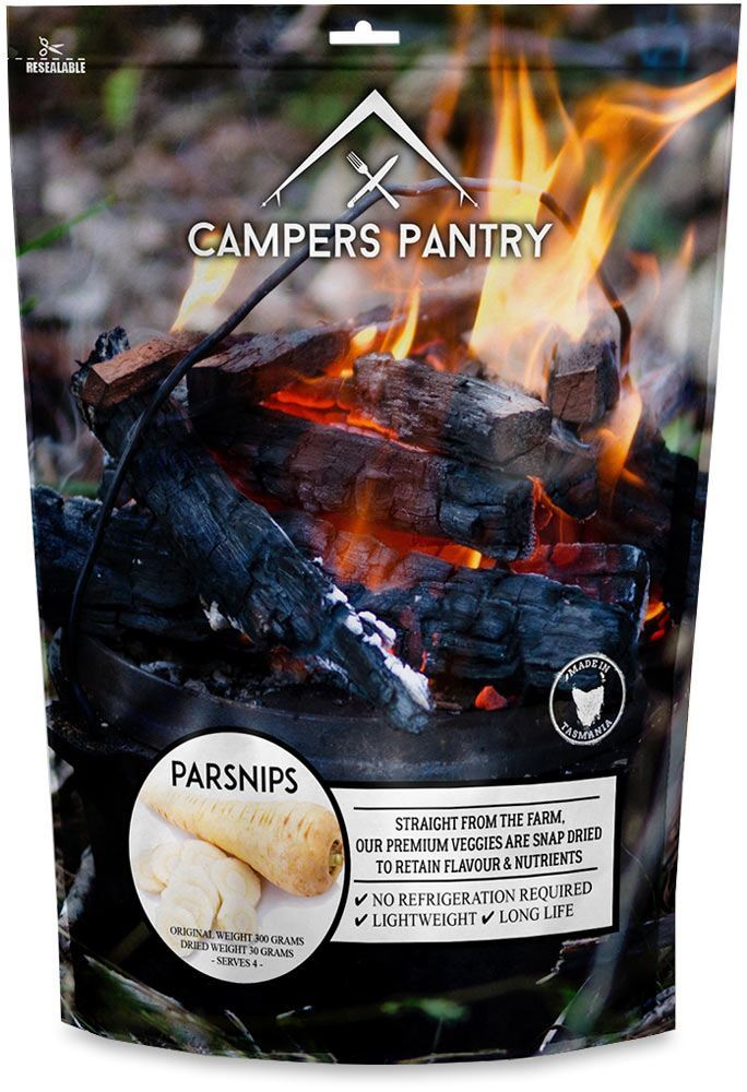 Campers Pantry Freeze Dried Parsnip