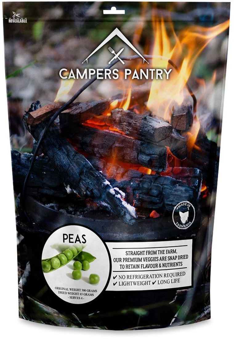 Campers Pantry Freeze Dried Peas