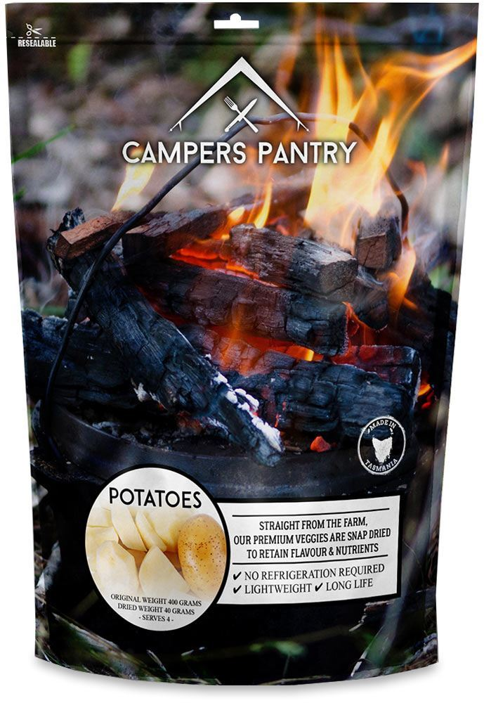 Campers Pantry Freeze Dried Potato
