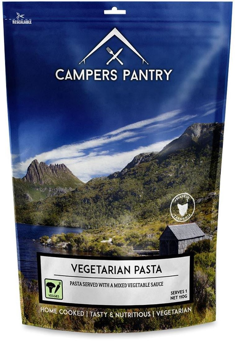 Campers Pantry Vegetarian Pasta Freeze Dried Meal
