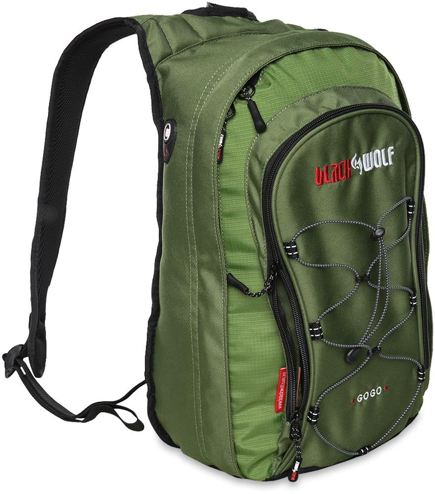 Black Wolf GoGo 12L Day Pack - Forest