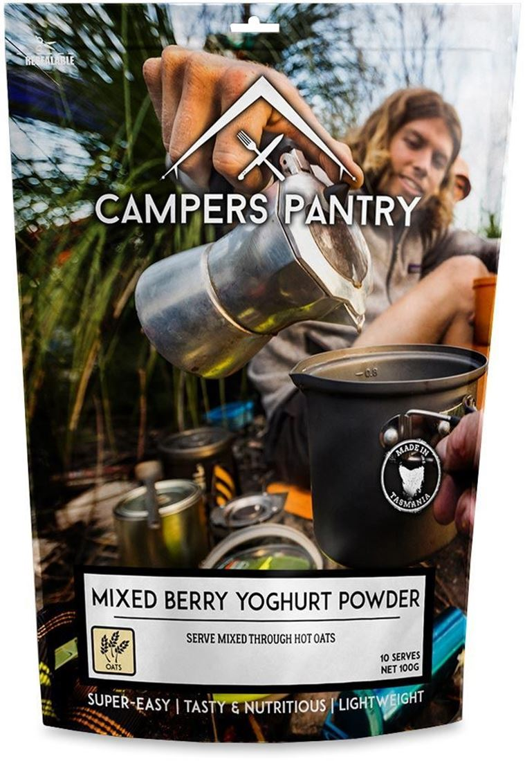 Campers Pantry Mixed Berry Yoghurt Powder