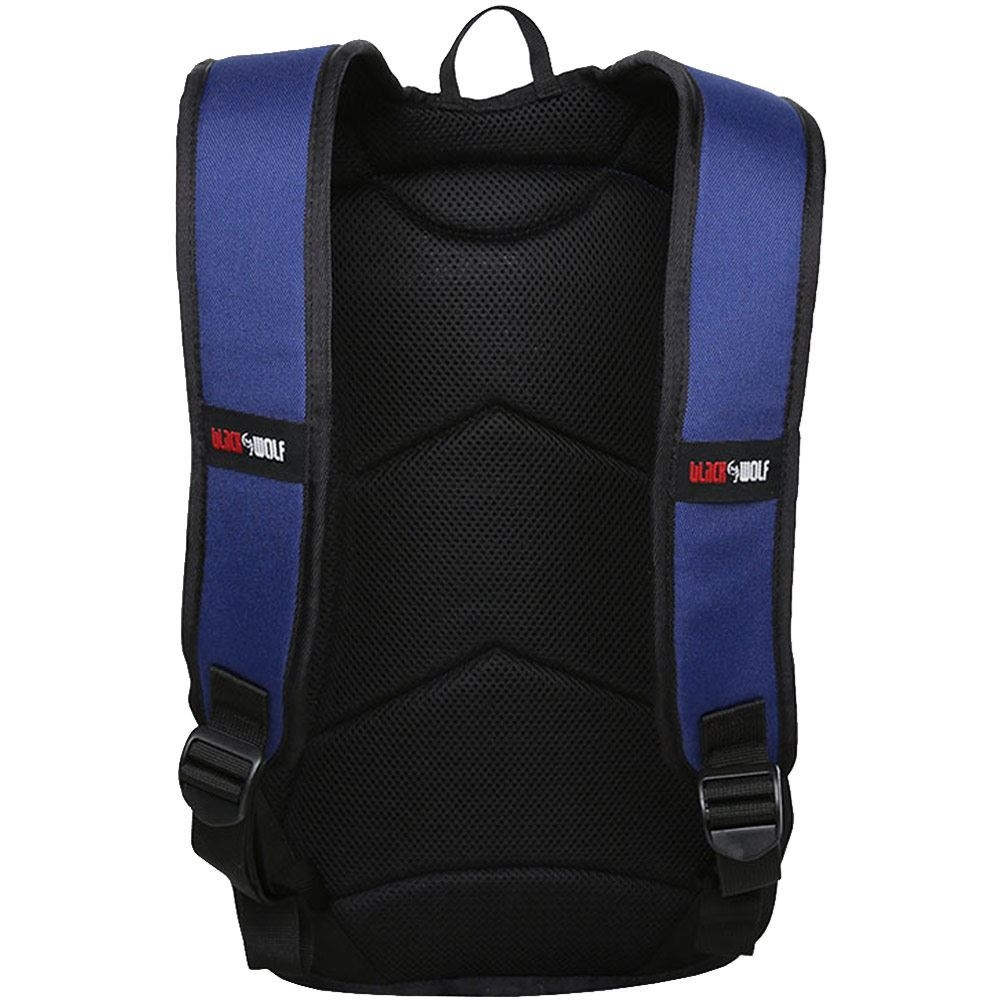 Black Wolf GoGo 12L Day Pack Blue - Back view