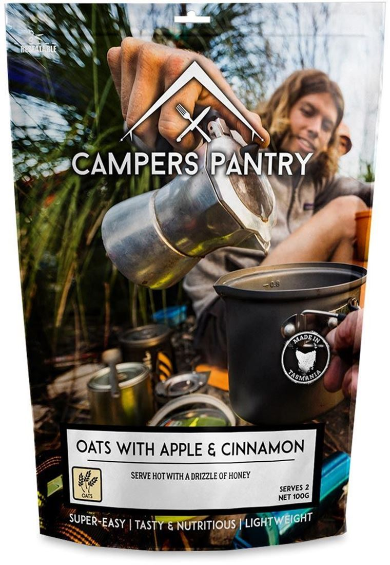 Campers Pantry Oats with Apple & Cinnamon