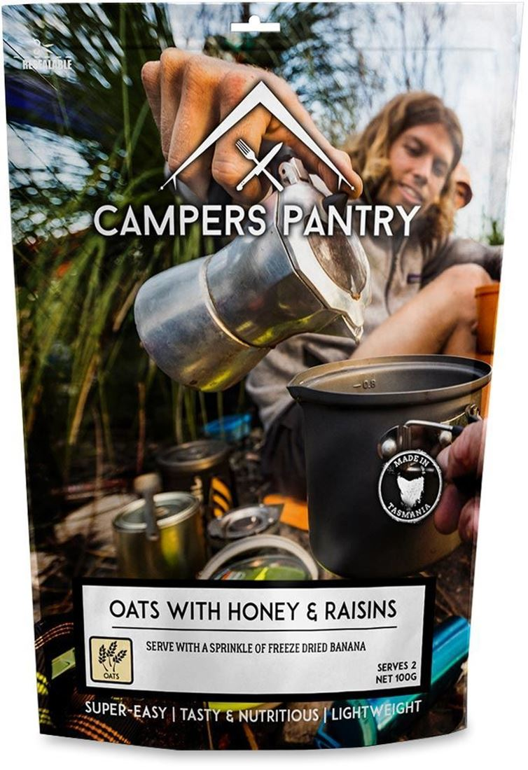 Campers Pantry Oats with Honey & Raisins