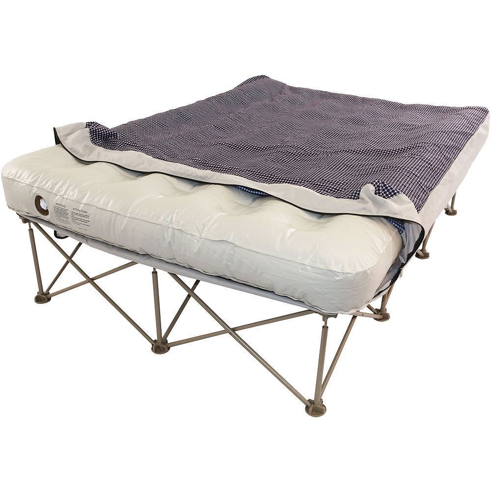 OZtrail Anywhere Bed Queen - Removing cover