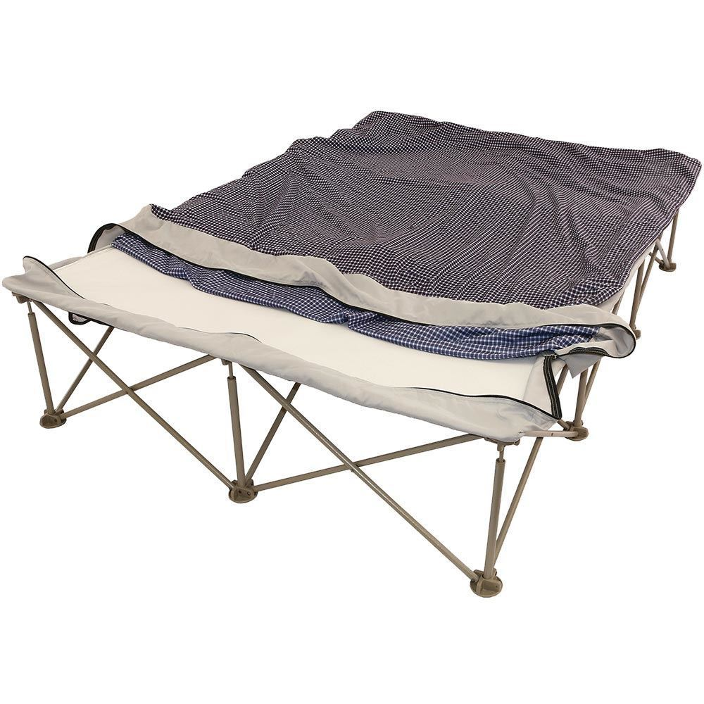 OZtrail Anywhere Bed Queen - Deflating