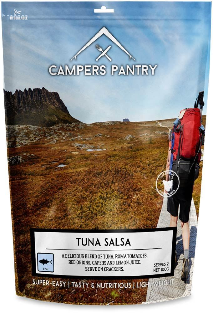 Campers Pantry Tuna Salsa