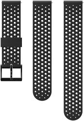 Suunto 20mm Athletic 1 Silicone Strap S+M Black Black