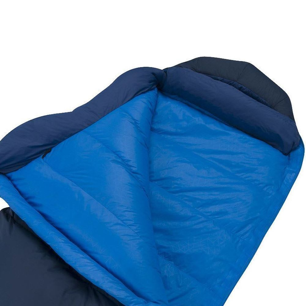Sea To Summit Trek Tk3 Sleeping Bag (-6°C) Soft touch 20D lining fabric is lightweight and highly breathable, durable 30D Nylon shell