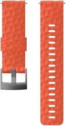 Suunto 24mm Explore Silicone Strap M Coral Grey