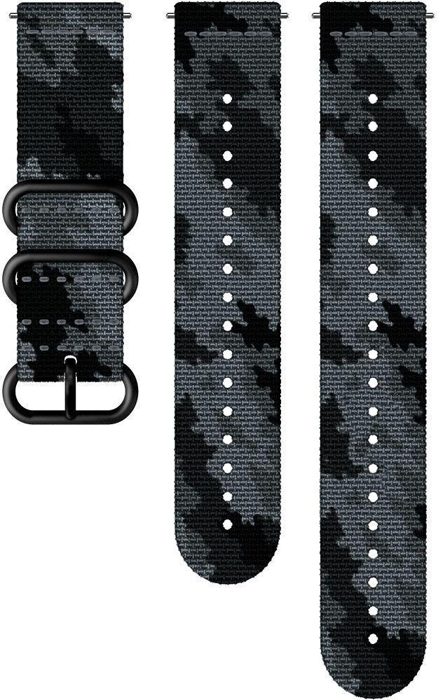 Suunto 24mm Explore 2 Textile Strap M+L Concrete Black