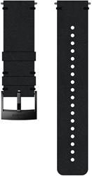 Suunto 24mm Urban 2 Leather Strap M Black Black